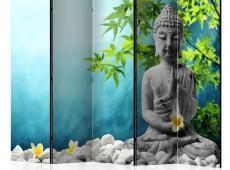 Paraván - Buddha: Beauty of Meditation II [Room Dividers]